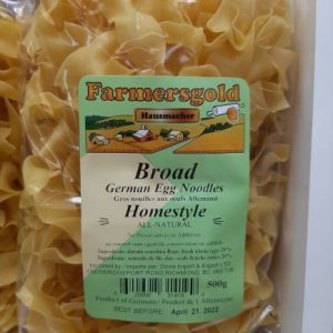 Farmer's Gold - Germany - Broad German Egg Noodles
