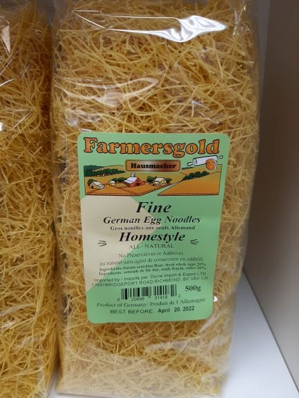 Farmer's Gold - Germany - Fine German Egg Noodles