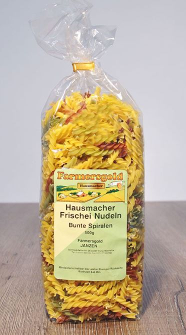 Farmer's Gold - Germany - Spiral noodle Multi Colour